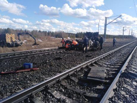 Ущерб, причиненный Северной магистрали в результате ДТП на железнодорожных переездах, превысил 8 млн рублей