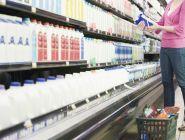 Надзор  за порядком на «молочных полках» продолжается