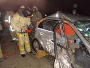 Два человека пострадали в ДТП на трассе Котлас – Вычегодский