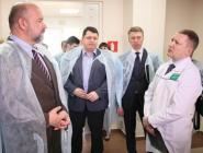 Губернатор посетил акушерский комплекс Котласской ЦГБ