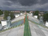 В Котласе на улице Александра Невского – новая крыша