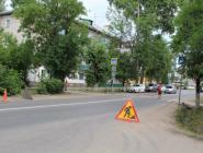 В Котласе производится модернизация нерегулируемых пешеходных переходов