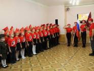 В Вычегодском появился первый юнармейский отряд