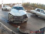 В Котласе перевернулся УАЗ
