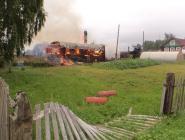 В Архангельской области люди гибнут на пожарах вечером и ночью