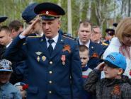 В Котласе продолжается акция «Георгиевская лента 2017»