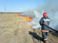 Пожарные призывают не жечь траву