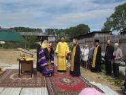 В Лименде заложен камень в основание строящегося храма