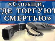 Полицейские предлагают жителям Архангельской области объединиться в борьбе с наркопреступностью