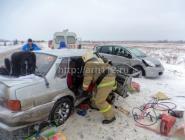 ДТП в Котласском районе: два человека госпитализированы