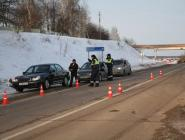 В новогодние праздники сотрудники Госавтоинспекции выявляли нетрезвых водителей