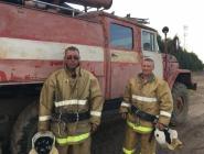 Добровольные пожарные в поселке Савватия всегда готовы прийти на помощь своим землякам