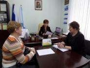 Депутат облсобрания депутатов Ольга Виткова посетила Котласский район