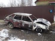 Пожары в ноябре на территории Котласского района
