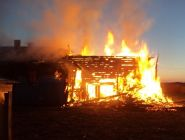 При пожаре в жилом доме спасён мужчина