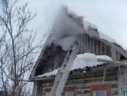 Пожилая женщина погибла в «печном» пожаре в Котласе