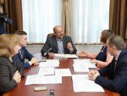 Состоялась рабочая встреча губернатора Игоря Орлова с главой Котласского района Татьяной Сергеевой
