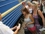 Из Симферополя отправился первый прямой поезд в Москву