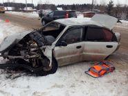 В ДТП в Вычегодском по вине пьяного водителя пострадали три человека