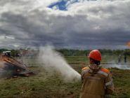 Подведены первые итоги пожароопасного сезона в лесах Поморья в 2020 году