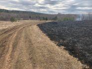 Обстановка с пожарами в Котласском районе остается сложной