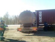 В Коряжме грузовой автомобиль въехал в товарный поезд