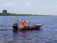 Пожарные приняли участие в «Котласской Регате»