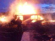 В Котласе при пожаре в бане погиб мужчина