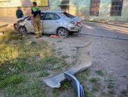 Сотрудниками полиции Котласского района устанавливаются обстоятельства ДТП, в котором пострадали люди
