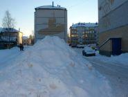 Есть замечания к УК по уборке дворов от снега