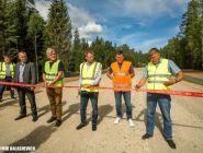В Кенозерье и Карелию теперь можно доехать без проблем — дорожники провели ремонт проблемного участка