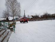 Котласский пожарно-спасательный гарнизон обеспечил готовность к несению службы в зимний период