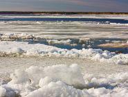 В Архангельской области продолжается подготовка к ледоходу-2021