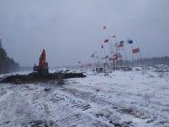 Сотрудники минлеспрома Поморья совместно с УМВД проверили исполнение предписания об уборке несанкционированных построек на Шиесе