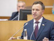 Сенатор от Архангельской области - в числе
