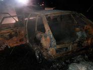 Машина котлашанина сгорела под Великим Устюгом