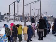 Малыши побывали на экскурсии у железнодорожных энергетиков
