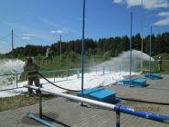 Тренировки и соревнования - учебный год в Котласском пожарно- спасательном гарнизоне в разгаре