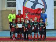Юные футболисты выступили достойно!