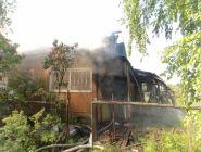 Пожары в Котласе: горела дача и хозпостройки