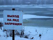 В Котласе введен запрет выхода на лед