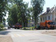 Ремонт дорог и тротуаров в завершающей стадии