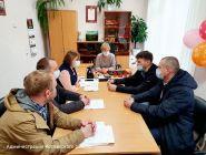 Глава Котласского района продолжает рабочие поездки по району