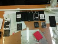 В колонии области за прошлый год пытались передать 713 телефонов
