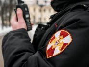 Сотрудник Росгвардии задержал гражданина, находящегося в розыске за нанесение телесных повреждений