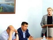 Депутат Архангельского областного Собрания депутатов Ольга Порошина отчиталась перед котлашанами