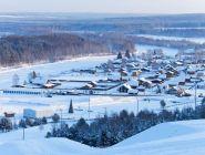 На лыжных гонках в Малиновке работают судьи из Котласа и Коряжмы