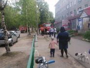 В Котласе аптеку удалось спасти от пожара