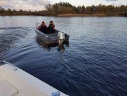 Вниманию рыбаков: осенью не стоит забывать о безопасности на воде!