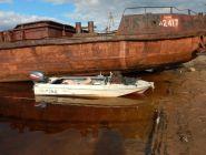 В Котласе раскрыта кража корабельного якоря с цепью